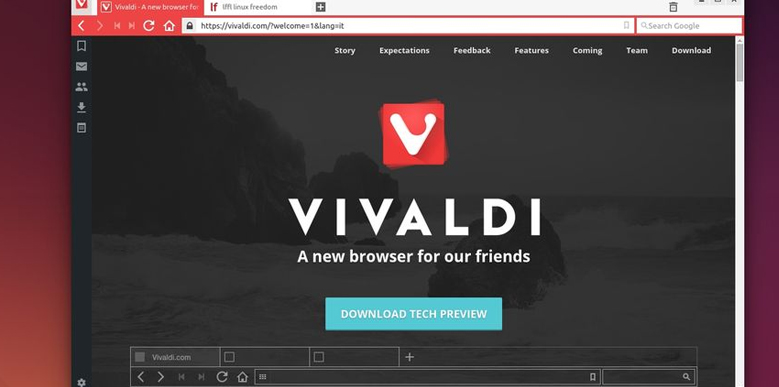 Vivaldi – un nou browser